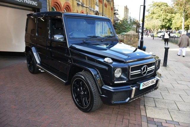 USED 2015 65 MERCEDES-BENZ G-CLASS 5.5 AMG G 63 4MATIC EDITION 463 5d 563 BHP MERCEDES WARRANTY, DESIGNO EXLUSIVE PACKAGE, REAR ENTERTAINMENT PACK