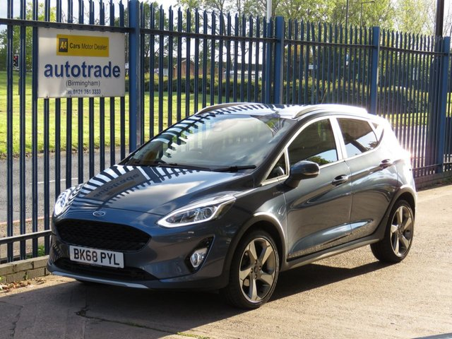 USED 2018 68 FORD FIESTA 1.0 ACTIVE X 5d 123 BHP