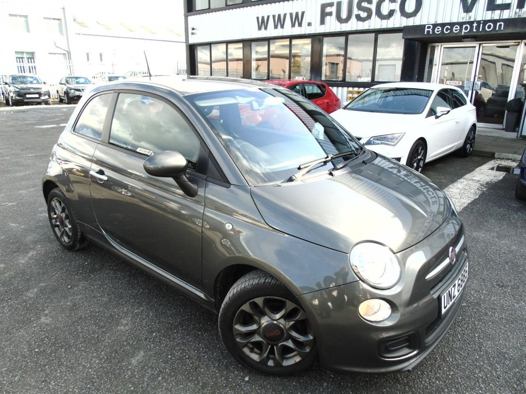 USED 2014 FIAT 500 1.2 S 3d 69 BHP £115 a month, T&Cs apply.
