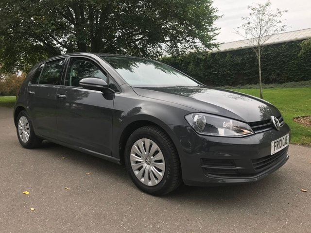 2013 13 VOLKSWAGEN GOLF 1.2 S TSI BLUEMOTION TECHNOLOGY 5d 84 BHP