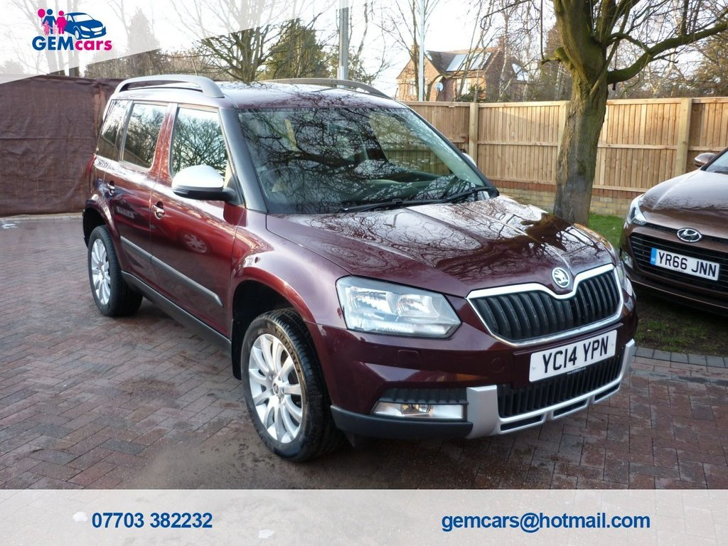 USED 2014 14 SKODA YETI 1.2 OUTDOOR SE TSI DSG 5d 103 BHP GO TO OUR WEBSITE TO WATCH A FULL WALKROUND VIDEO