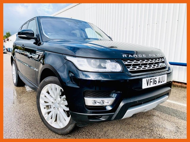 USED 2016 16 LAND ROVER RANGE ROVER SPORT 3.0 SDV6 HSE 5d 306 BHP FULL SERVICE HISTORY - HEATED FRONT & COOLED SEATS - HEATED REAR LEATHER SEATS - ELECTRIC POWER BOOT - JUST 1 OWNER FROM NEW - REVERSE CAMERA - SATELLITE NAVIGATION - DAB RADIO -