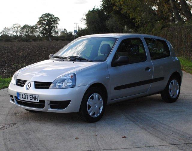 2007 07 RENAULT CLIO 1.1 CAMPUS 8V 3d 58 BHP