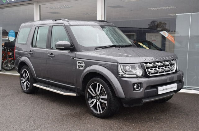 2015 65 LAND ROVER DISCOVERY 4 3.0 SDV6 HSE LUXURY 5d 255 BHP