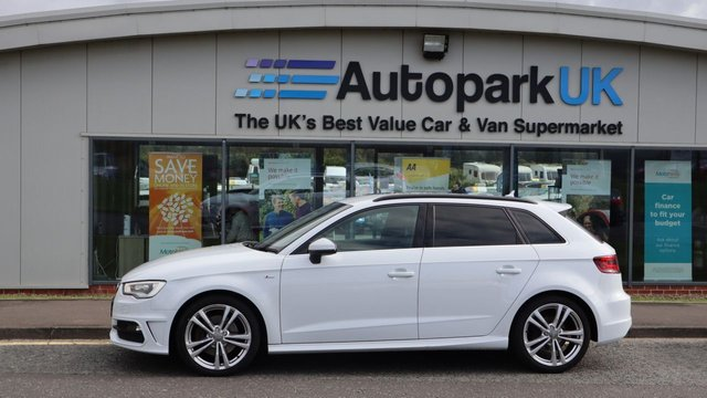 USED 2014 64 AUDI A3 2.0 SPORTBACK TDI QUATTRO S LINE 5d 182 BHP LOW DEPOSIT OR NO DEPOSIT FINANCE AVAILABLE . COMES USABILITY INSPECTED WITH 30 DAYS USABILITY WARRANTY + LOW COST 12 MONTHS ESSENTIALS WARRANTY AVAILABLE FOR ONLY £199 . ALWAYS DRIVING DOWN PRICES . BUY WITH CONFIDENCE . OVER 1000 GENUINE GREAT REVIEWS OVER ALL PLATFORMS FROM GOOD HONEST CUSTOMERS YOU CAN TRUST .