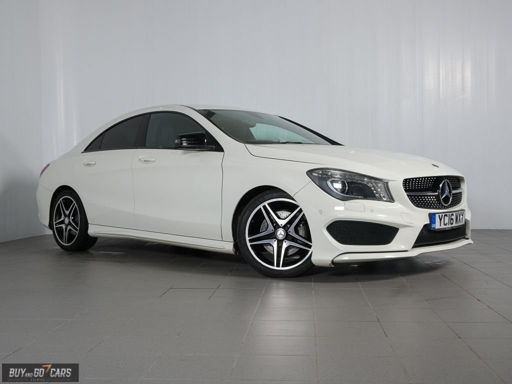 USED 2016 16 MERCEDES-BENZ CLA 2.1 CLA 220 D AMG LINE 4d 174 BHP Call us for Finance and Delivery options