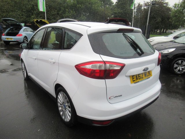 USED 2012 62 FORD C-MAX 1.6 TITANIUM TDCI 5d 114 BHP ** JUST ARRIVED ** NO DEPOSIT DEALS **