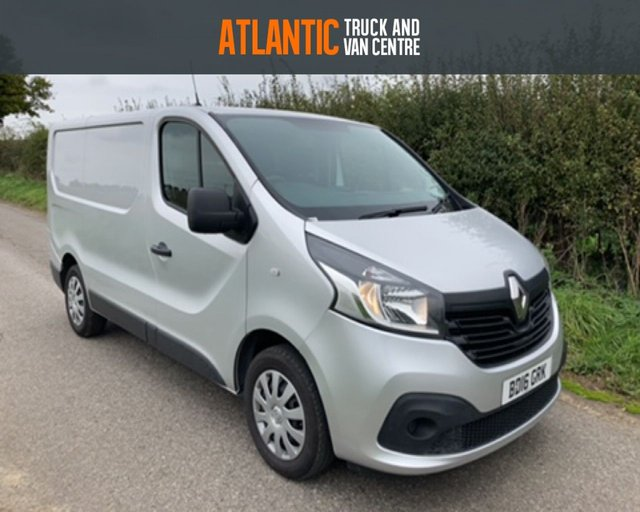 2016 16 RENAULT TRAFIC SL27 BUSINESS PLUS ENERGY DCI S/R P/V