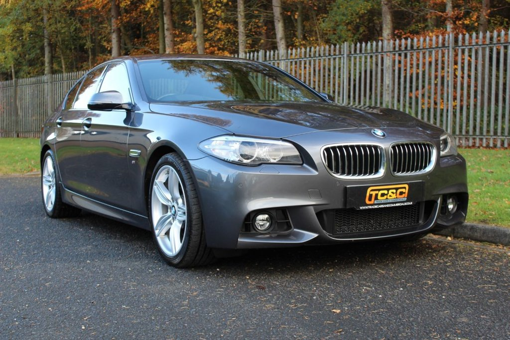 USED 2016 66 BMW 5 SERIES 3.0 535D M SPORT 4d 309 BHP A STUNNING HIGH SPEC LOW OWNER 535D WITH FULL BMW SERVICE HISTORY!!!