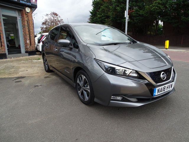 2018 18 NISSAN LEAF 40KWh N-CONNECTA Hatchback 5dr Electric Auto (150 PS)