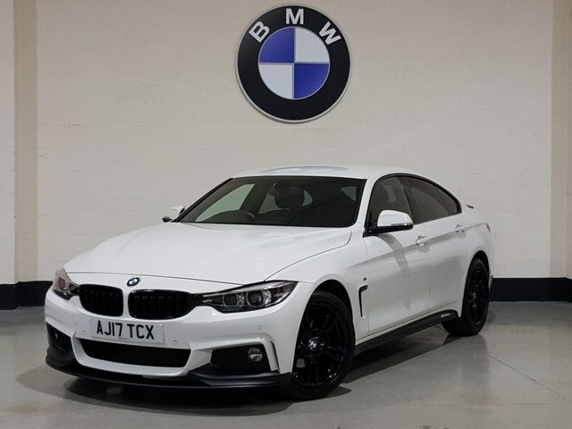 USED 2017 17 BMW 4 SERIES 2.0 420D M SPORT GRAN COUPE 4d 188 BHP 1 Owner/Pro Sat-Nav/ Heated Leather/Bmw History/£30 Tax