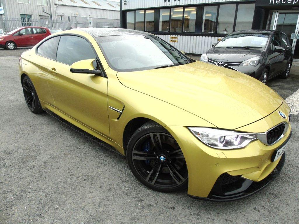 USED 2015 BMW M4 3.0 M4 2d 426 BHP -High Spec!