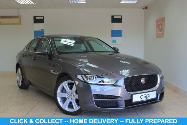 USED 2016 66 JAGUAR XE 2.0 PORTFOLIO 4d 178 BHP LIGHT OYSTER LEATHER, SATELLITE NAVIGATION, BI XENONS, ELECTRIC FRONT SEATS, HEATED FRONT SEATS, REAR PARKING AID, VOICE CONTROL, BLUETOOTH, RAIN SENSORS, LANE DEPARTURE WARNING, LOW MILEAGE,