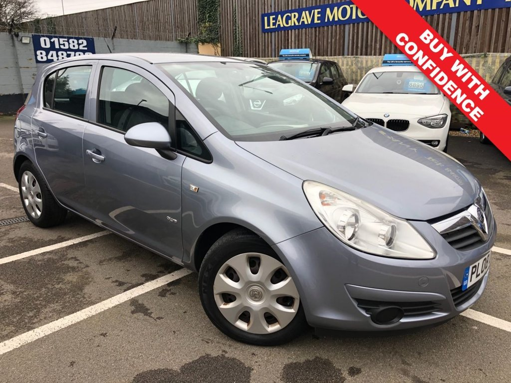 USED 2008 08 VAUXHALL CORSA 1.4 CLUB A/C 16V 5d 90 BHP COMES WITH 12 MONTH MOT