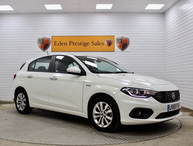 USED 2019 69 FIAT TIPO 1.4 T-JET EASY PLUS 5d 118 BHP