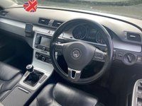 USED 2010 60 VOLKSWAGEN PASSAT 2.0 HIGHLINE PLUS TDI 4d RECENTLY SERVICED, MOT UNTIL OCTOBER 2021, SATELLITE NAVIGATION, FULL HEATED LEATHER, BLUETOOTH, CRUISE CONTROL