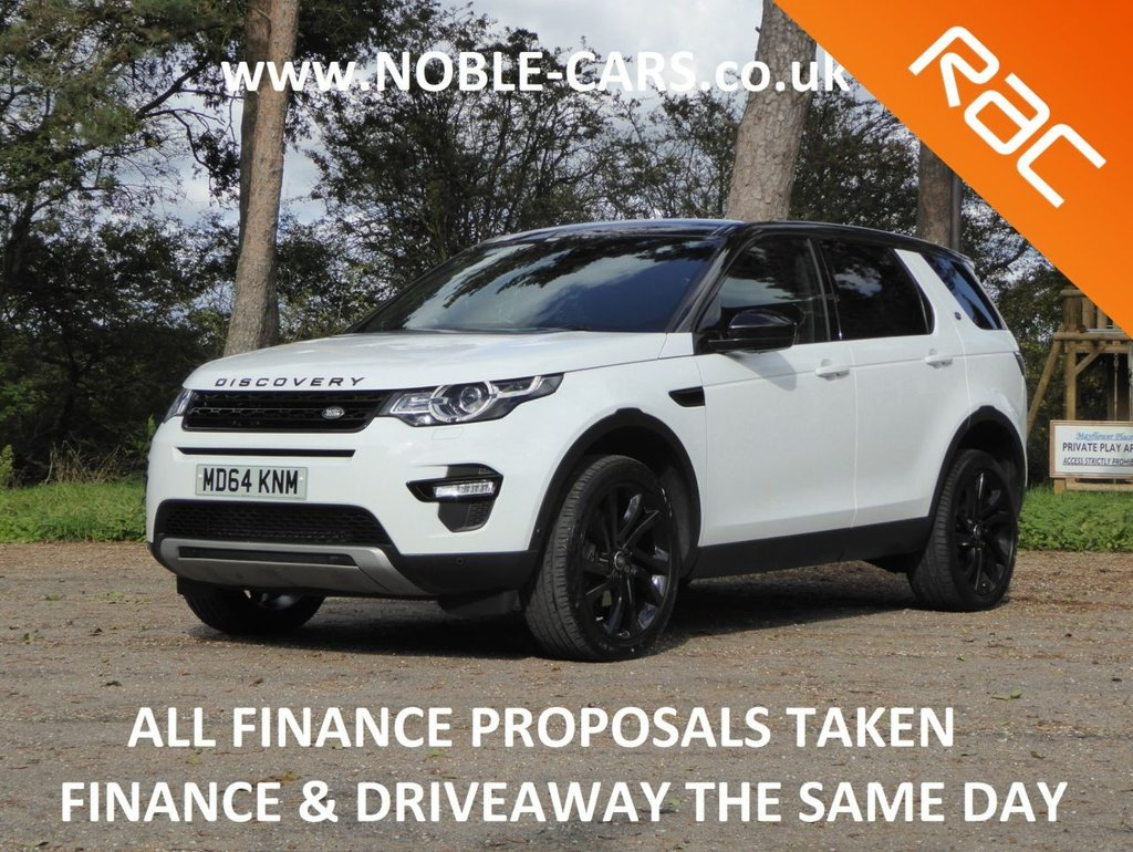 USED 2015 64 LAND ROVER DISCOVERY SPORT 2.2 SD4 HSE LUXURY 5d 190 BHP