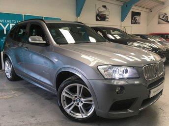 2012 BMW X3 3.0 XDRIVE30D M SPORT 5d 255 BHP