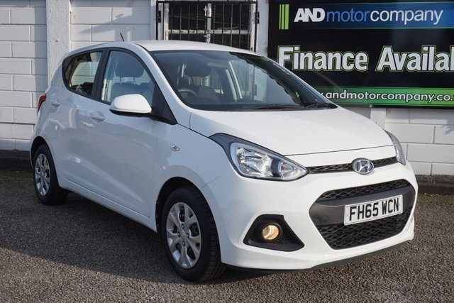 USED 2015 65 HYUNDAI I10 1.2 SE 5d 86 BHP 1 Owner from New, 4 Service Stamps, Rare Automatic