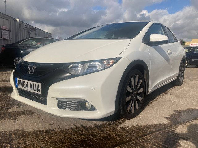 "USED 2015 HONDA CIVIC 1.8 I-VTEC SE PLUS 5d 140 BHP WILL COME WITH 12 MONTHS MOT-2 KEYS+CLIMATE CONTROL+MEDIA+17""ALLOYS+BLUETOOTH+USB+AUX+CLEAN+"