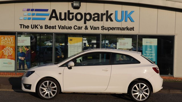 USED 2014 14 SEAT IBIZA 1.2 TSI FR 3d 104 BHP . LOW DEPOSIT OR NO DEPOSIT FINANCE AVAILABLE . COMES USABILITY INSPECTED WITH 30 DAYS USABILITY WARRANTY + LOW COST 12 MONTHS ESSENTIALS WARRANTY AVAILABLE FOR ONLY £199 . ALWAYS DRIVING DOWN PRICES . BUY WITH CONFIDENCE . OVER 1000 GENUINE GREAT REVIEWS OVER ALL PLATFORMS FROM GOOD HONEST CUSTOMERS YOU CAN TRUST .