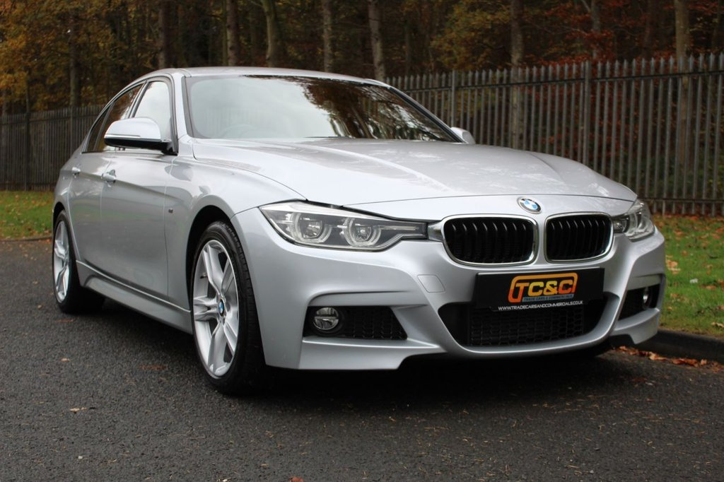USED 2016 16 BMW 3 SERIES 2.0 320D M SPORT 4d 188 BHP A CLEAN LOW OWNER 320D WITH FULL SERVICE HISTORY, SATELLITE NAVIGATION AND BLACK LEATHER!!!