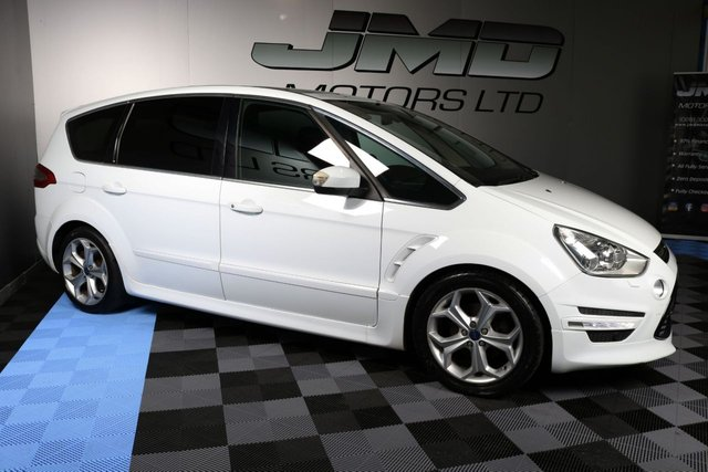USED 2012 FORD S-MAX 2012 FORD S-MAX 2.0 TDCI TITANIUM X SPORT 161BHP (FINANCE & WARRANTY)