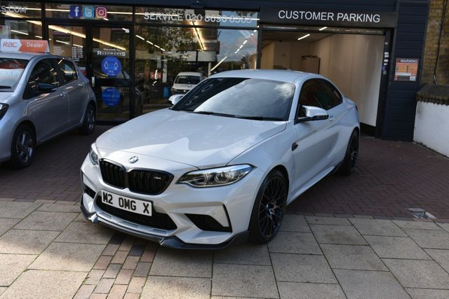 USED 2019 M BMW M2 3.0 M2 COMPETITION 2d 405 BHP CARBON, REMUS, MP BRAKES, REV CAM