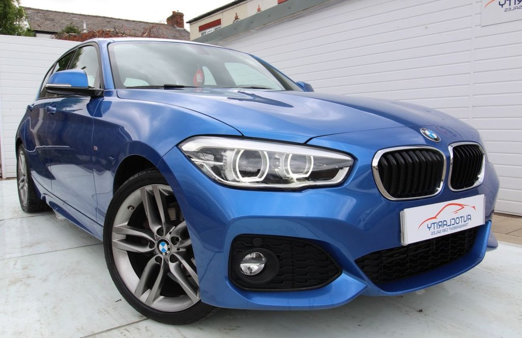 USED 2017 66 BMW 1 SERIES 1.5 118I M SPORT 5d 134 BHP 2 Keys - FSH - Nav