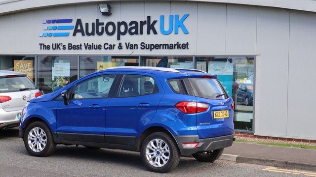 USED 2016 FORD ECOSPORT 1.5 ZETEC 5d 110 BHP . LOW DEPOSIT OR NO DEPOSIT FINANCE AVAILABLE . COMES USABILITY INSPECTED WITH 30 DAYS USABILITY WARRANTY + LOW COST 12 MONTHS ESSENTIALS WARRANTY AVAILABLE FOR ONLY £199 . ALWAYS DRIVING DOWN PRICES . BUY WITH CONFIDENCE . OVER 1000 GENUINE GREAT REVIEWS OVER ALL PLATFORMS FROM GOOD HONEST CUSTOMERS YOU CAN TRUST .