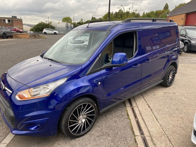 2014 64 FORD TRANSIT CONNECT 1.6L 240 LIMITED P/V 0d 114 BHP 3 SEATER AIR CON HEATED SEATS  NO VAT YES NO VAT  SOLD TO GEORGE FROM LEEDS