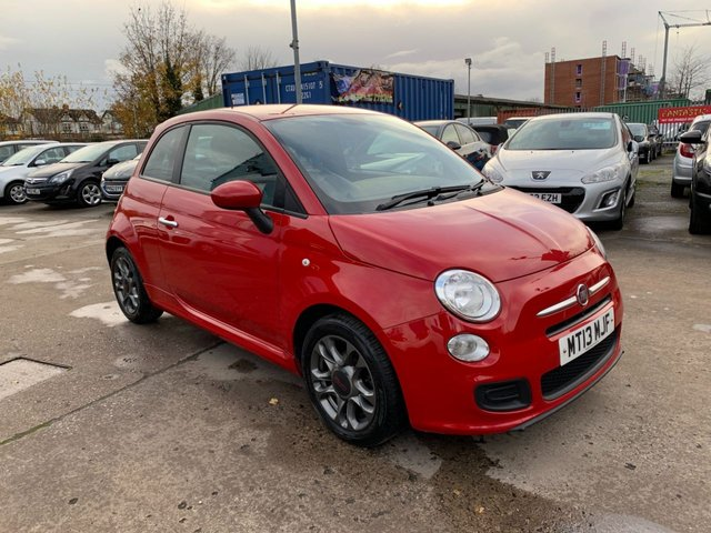 USED 2013 13 FIAT 500 1.2 S 3d 69 BHP SERVICE HISTORY