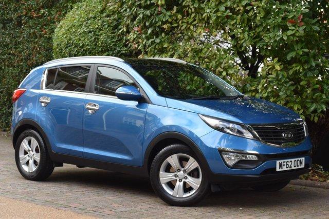 2012 62 KIA SPORTAGE 1.7 CRDI 2 5d 114 BHP
