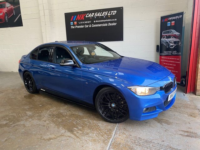2013 13 BMW 3 SERIES 2.0 320D M SPORT 4d 181 BHP SOLD TO A CLIENT IN SHEFFIELD
