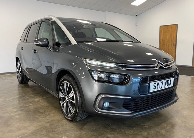 USED 2017 17 CITROEN C4 GRAND PICASSO 1.6 BLUEHDI FLAIR S/S EAT6 5d 118 BHP
