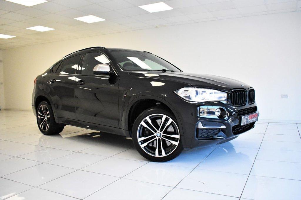 USED 2016 66 BMW X6 M50D 3.0 381 BHP