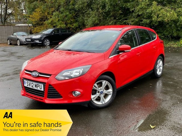 USED 2012 12 FORD FOCUS 1.6 ZETEC 5d 124 BHP
