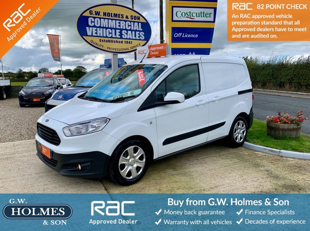 USED 2017 17 FORD TRANSIT COURIER TREND 1.5 TDCI 95 BHP EURO 6 **DIRECT NHS**FFSH**