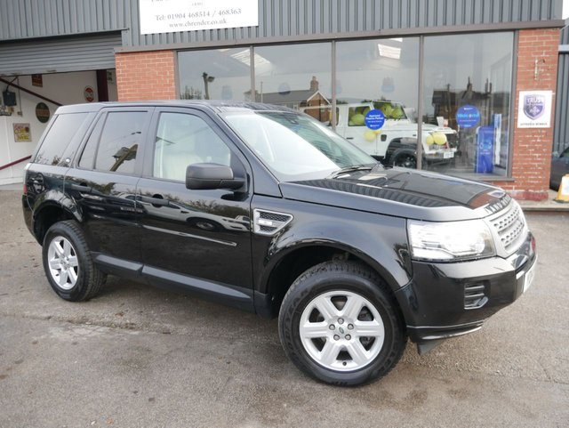 USED 2014 14 LAND ROVER FREELANDER 2.2 SD4 GS 5d 190 BHP Low Mileage, Full Service History, 2 Keys, Heated Front Seats