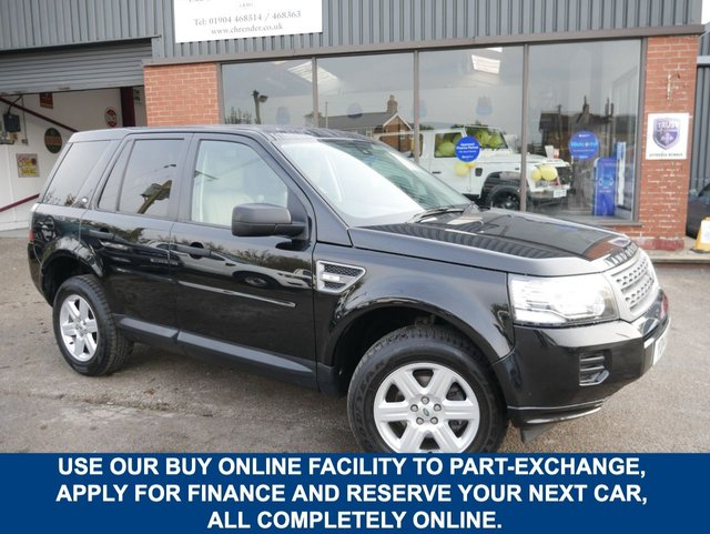 USED 2014 14 LAND ROVER FREELANDER 2.2 SD4 GS 5d 190 BHP CLICK & COLLECT ONLINE AT C H RENDER.