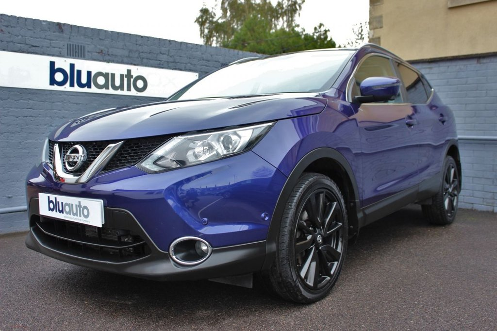 USED 2016 65 NISSAN QASHQAI 1.2 TEKNA DIG-T XTRONIC 5d 113 BHP Massive Specification, Lovely Condition, Superb Nissan Service History...