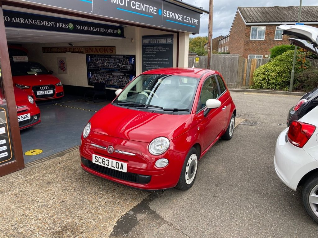 USED 2014 63 FIAT 500 1.2 COLOUR THERAPY 3d 69 BHP