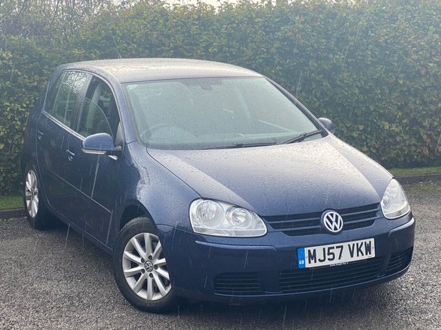 USED 2007 57 VOLKSWAGEN GOLF 1.9 MATCH TDI 5d 103 BHP FABULOUS LOW MILEAGE HATCHBACK
