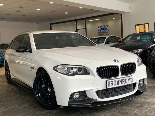 USED 2017 66 BMW 5 SERIES 2.0 520D M SPORT TOURING 5d 188 BHP BM PERFORMANCE STYLING+6.9%APR