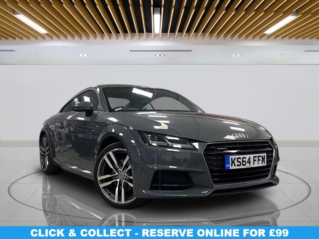 USED 2015 64 AUDI TT 2.0 TFSI QUATTRO S LINE 2d 227 BHP 19-inch Alloy Wheels, Satellite Navigation, Semi-Leather Seats, Climate Control, Parking Sensor(s)