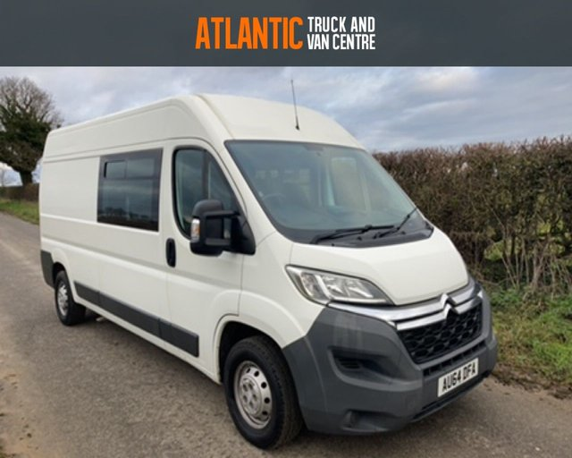 2014 64 CITROEN RELAY 35 L3H2 ENTERPRISE HDI 9  SEAT CREW VAN