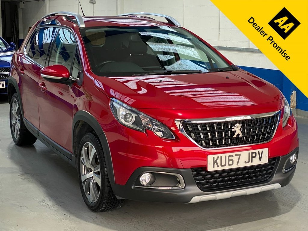 USED 2017 67 PEUGEOT 2008 1.6 BLUE HDI ALLURE 5d 100 BHP FULL SERVICE HISTORY/CAR PLAY