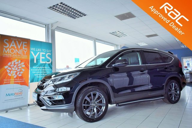 2016 16 HONDA CR-V 1.6 I-DTEC BLACK EDITION 5d 158 BHP