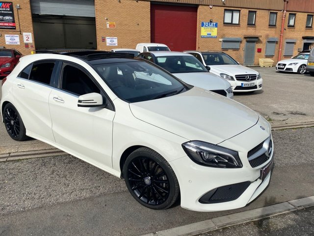 2017 66 MERCEDES-BENZ A-CLASS 2.1 A 200 D AMG LINE PREMIUM PLUS 5d OPENING PAN ROOF FULL SOLD TO REBECCA FROM SHEFFIELD
