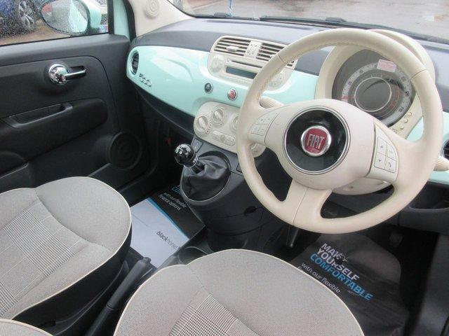 USED 2014 14 FIAT 500 1.2 LOUNGE 3d 69 BHP